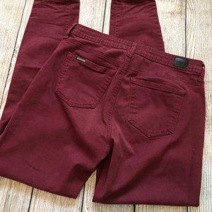 Celebrity Pink 7 28 Burnt Red Skinny Jeans Pants
